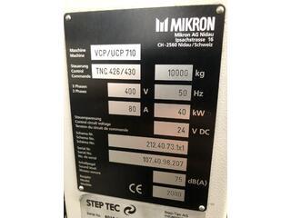 Mikron UCP 710, Fräsmaschine Bj.  2000-11