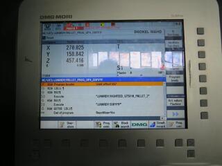 Mori Seiki NHX 4000, Fräsmaschine Bj.  2012-5
