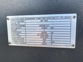 Drehmaschine Nakamura WT 300-8