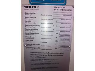 Drehmaschine Weiler E 50-8