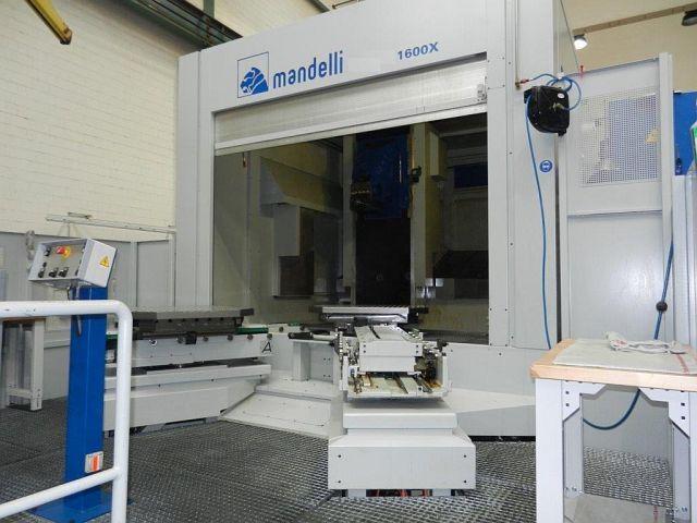 mehr Bilder Fräsmaschine Mandelli 1600 X