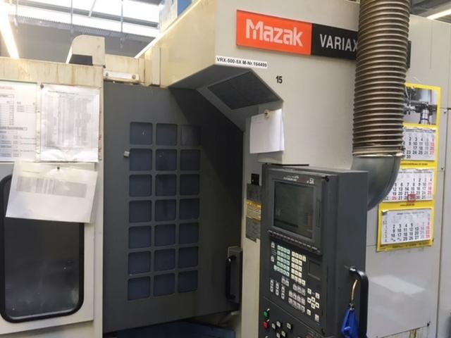 mehr Bilder Mazak Variaxis 500 5X - Production line 2 machines / 14 pallets, Fräsmaschine Bj.  2005