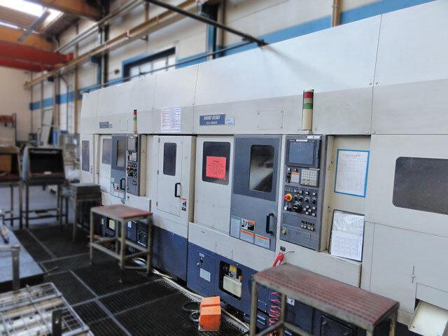 mehr Bilder Drehmaschine Mori Seiki CL 200 M - LG5 Transferanlage 2 Stk