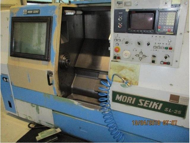 mehr Bilder Drehmaschine 2 x Mori Seiki SL 25 A / 500