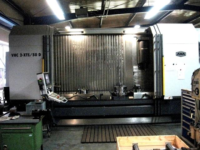 mehr Bilder Fräsmaschine AXA VHC 2/3000 XT /50 D