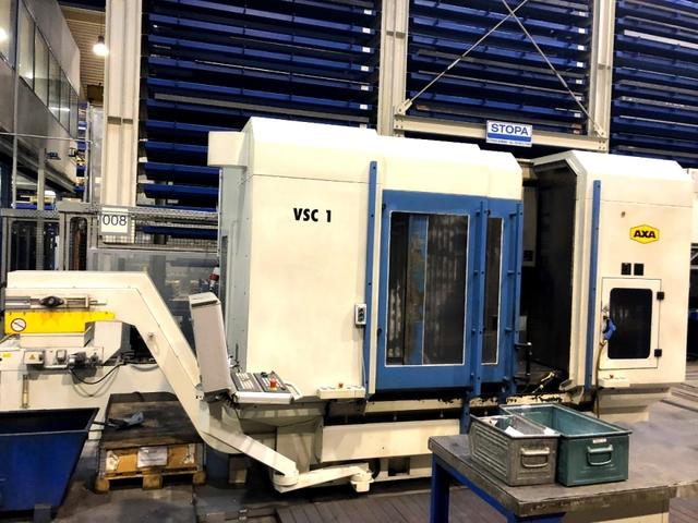 mehr Bilder AXA VSC1 - 1500, Fräsmaschine Bj.  2007