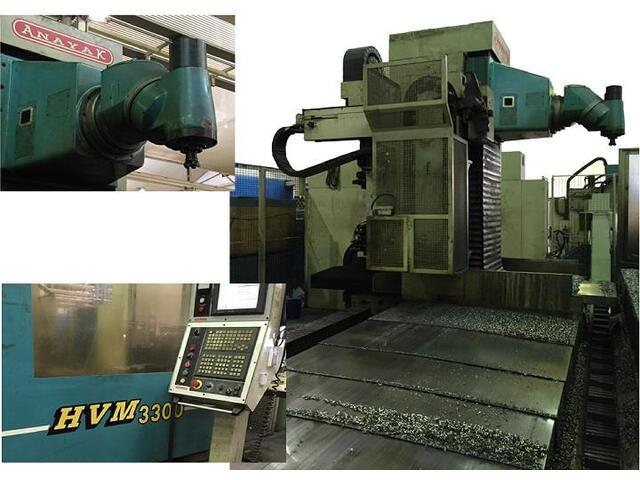 mehr Bilder Anayak HVM 3300 rebuilt Bettfräsmaschinen
