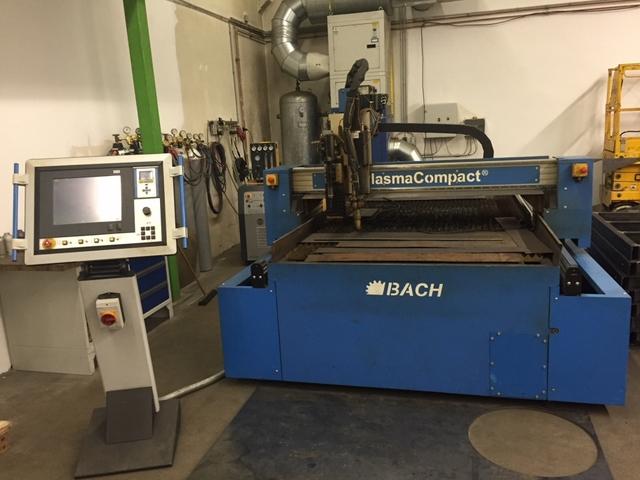 mehr Bilder Bach PlasmaCompact 1500 x 3000 Plasmaschneidanlagen