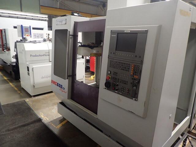 mehr Bilder Fräsmaschine Bridgeport VMC 600 / 22