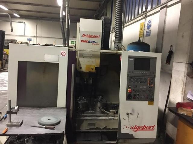 mehr Bilder Fräsmaschine Bridgeport VMC 600 - 22 Digital