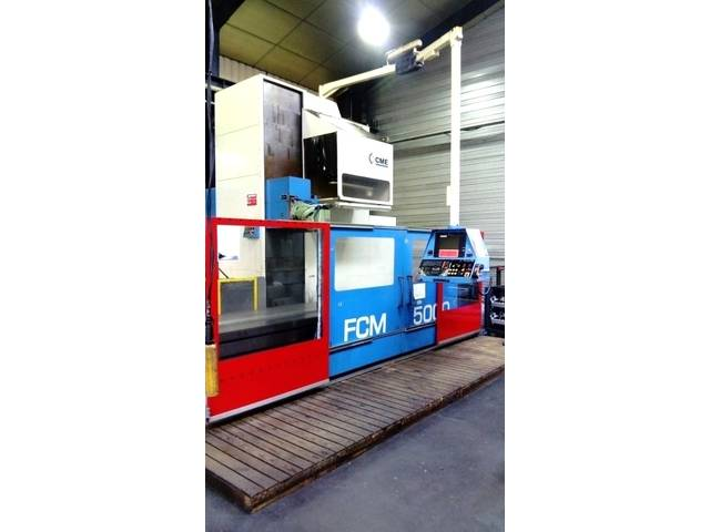 mehr Bilder CME FCM - 5000 x 950 Bettfräsmaschinen