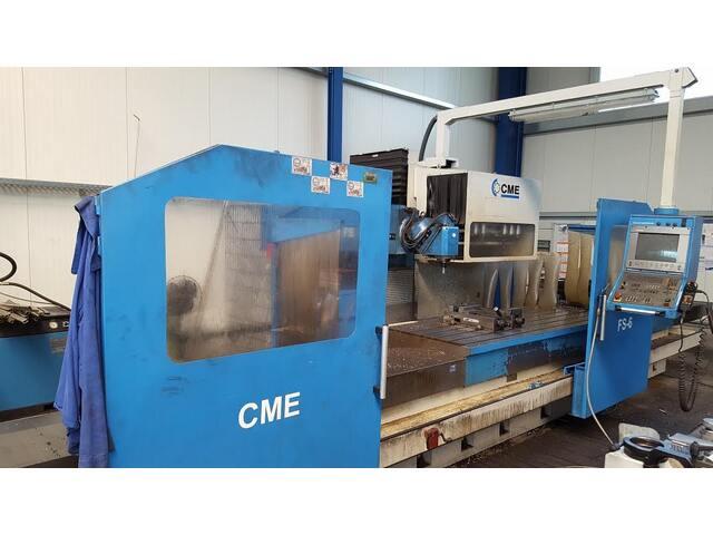 mehr Bilder CME FS 6 x 4000 Bettfräsmaschinen