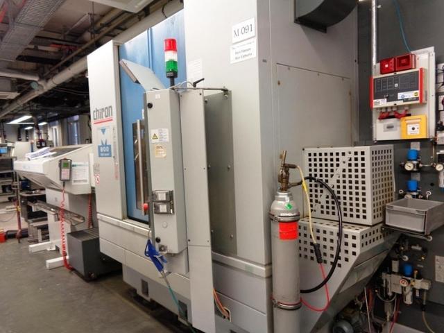 mehr Bilder Fräsmaschine Chiron Mill 800
