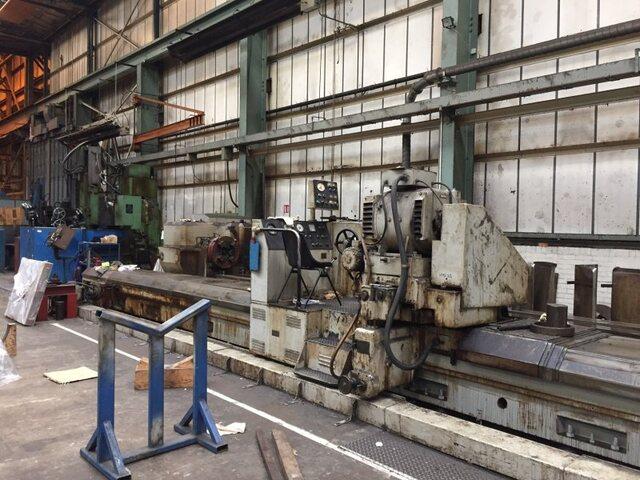 mehr Bilder Schleifmaschine Craven  750 x 12.000