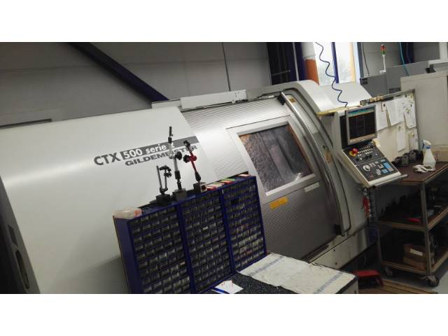 mehr Bilder Drehmaschine DMG CTX 500 Serie 2