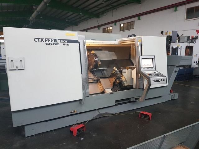 mehr Bilder Drehmaschine DMG CTX 520 linear x 1300