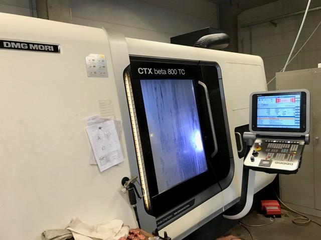 mehr Bilder Drehmaschine DMG CTX beta 800 TC