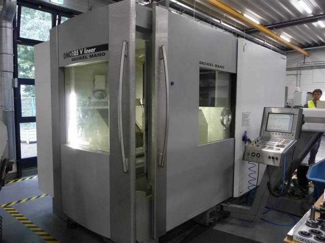 mehr Bilder DMG DMC 105 V Linear, Fräsmaschine Bj.  2007