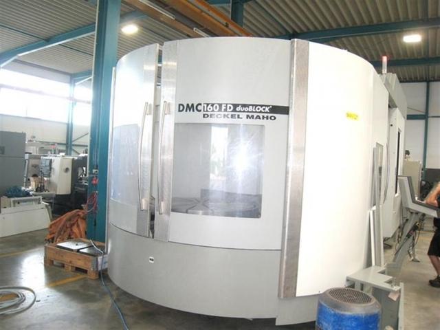 mehr Bilder Fräsmaschine DMG DMC 160 FD duoBlock