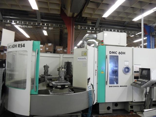 mehr Bilder Fräsmaschine DMG DMC 60 H - RS4