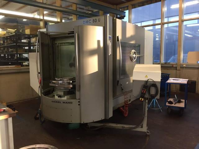 mehr Bilder Fräsmaschine DMG DMC 80 U