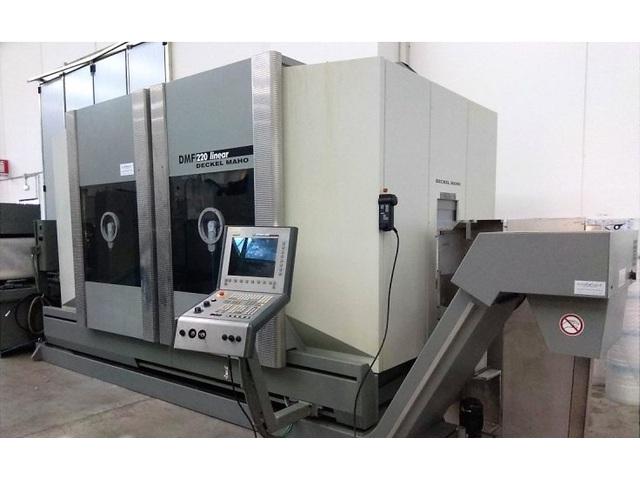 mehr Bilder Fräsmaschine DMG DMF 220 Linear 3ax