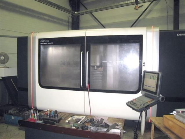 mehr Bilder Fräsmaschine DMG DMF 260 / 7