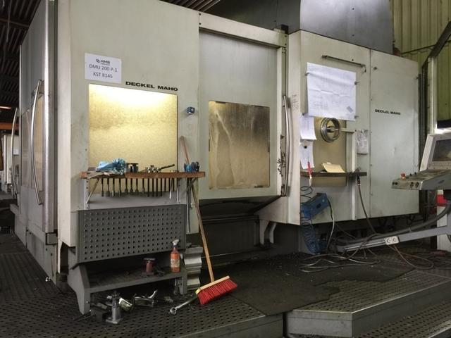 mehr Bilder Fräsmaschine DMG DMU 200 P