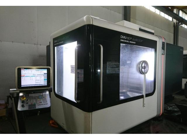 mehr Bilder Fräsmaschine DMG DMU 60 P duoBlock