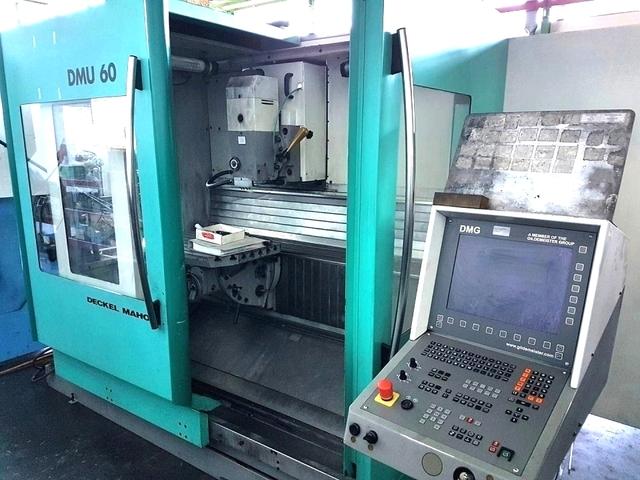 mehr Bilder Fräsmaschine DMG DMU 60 T