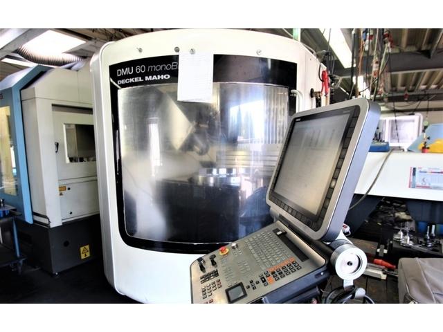 mehr Bilder DMG DMU 60 monoBLOCK, Fräsmaschine Bj.  2011