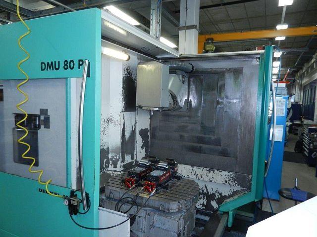 mehr Bilder DMG DMU 80 P, Fräsmaschine Bj.  1998