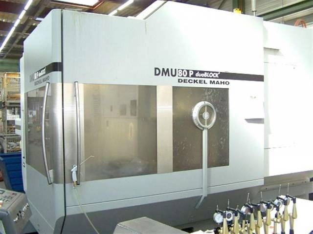 mehr Bilder Fräsmaschine DMG DMU 80 P duoBlock