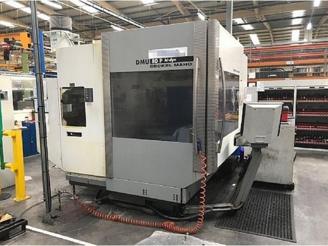 mehr Bilder Fräsmaschine DMG DMU 80 P hi-dyn