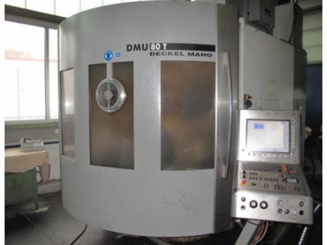 mehr Bilder Fräsmaschine DMG DMU 80 T Turbinenschaufeln/fanblades
