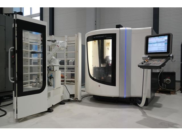 mehr Bilder DMG Sauer Ultrasonic 20 Linear, Fräsmaschine Bj.  2010
