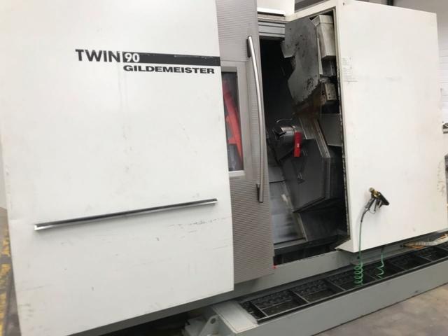 mehr Bilder Drehmaschine DMG Twin 90