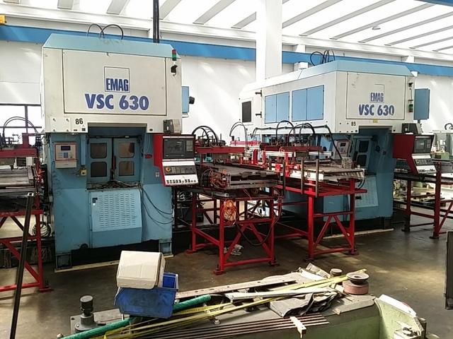 mehr Bilder Drehmaschine Emag VSC 630 x 2