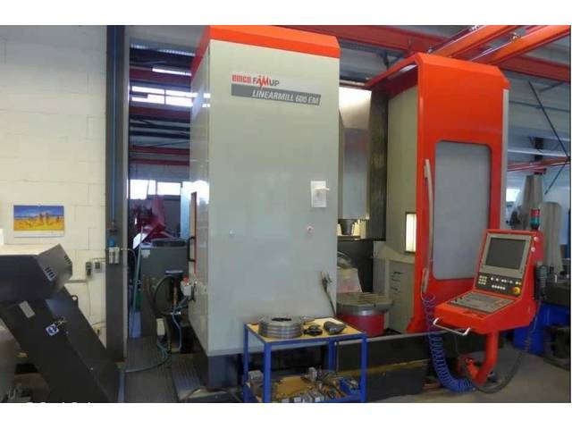 mehr Bilder Emco / Famup Linearmill 600 EM, Fräsmaschine Bj.  2006