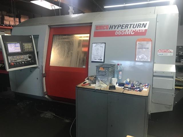 mehr Bilder Drehmaschine Emco Hyperturn 665 MC