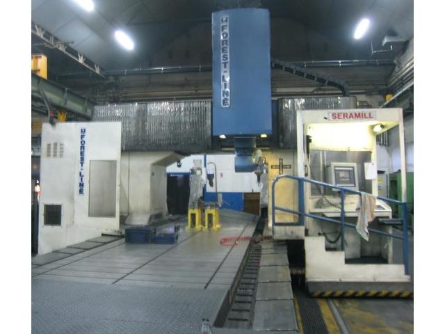 mehr Bilder Forest-Line Seramill 240 G x 6000 Bettfräsmaschinen
