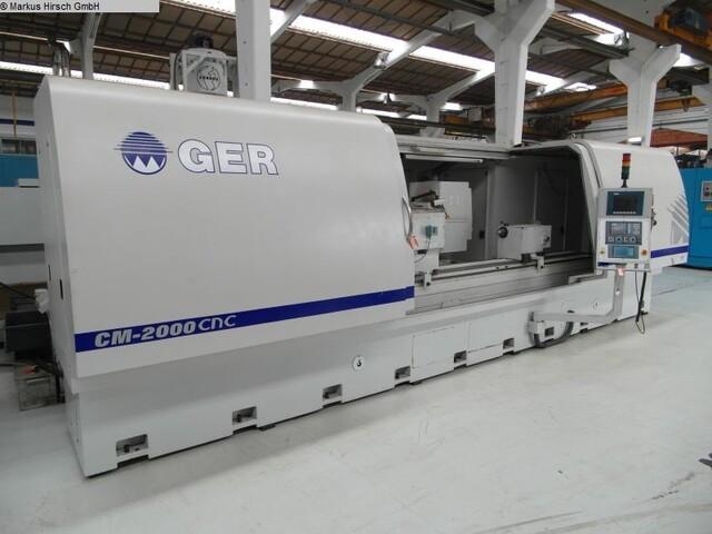 mehr Bilder Schleifmaschine GER CM 2000 NC