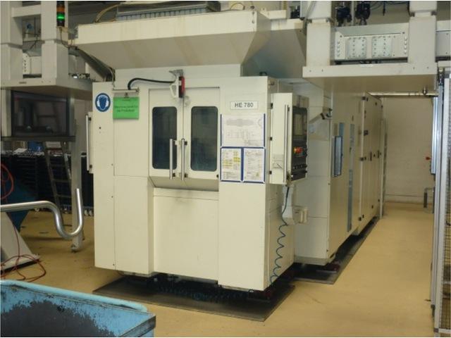 mehr Bilder Heller MCT 160, Fräsmaschine Bj.  2002