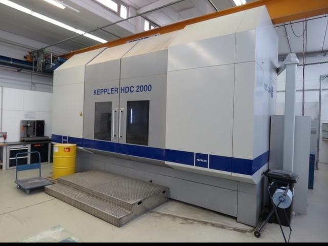 mehr Bilder Fräsmaschine Keppler HDC 2000