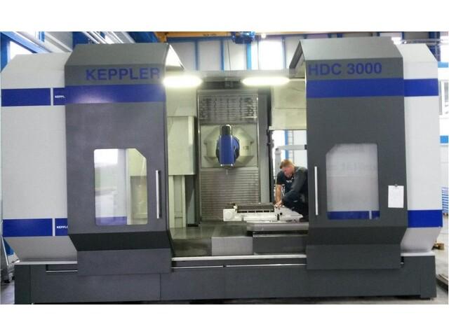 mehr Bilder Fräsmaschine Keppler HDC 3000