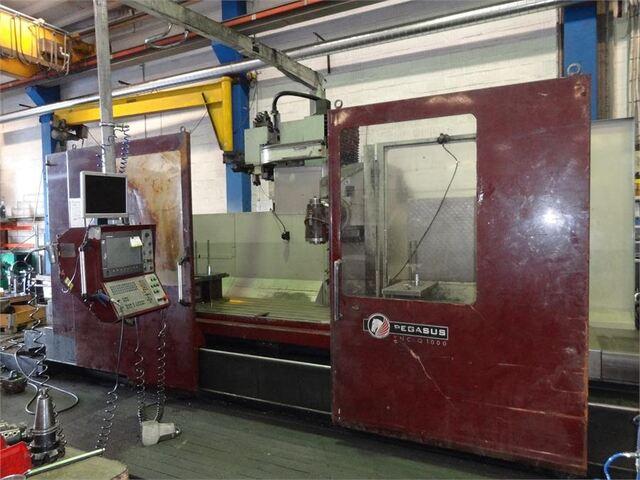 mehr Bilder Kiheung KNC Q 1000 x 3100 Bettfräsmaschinen