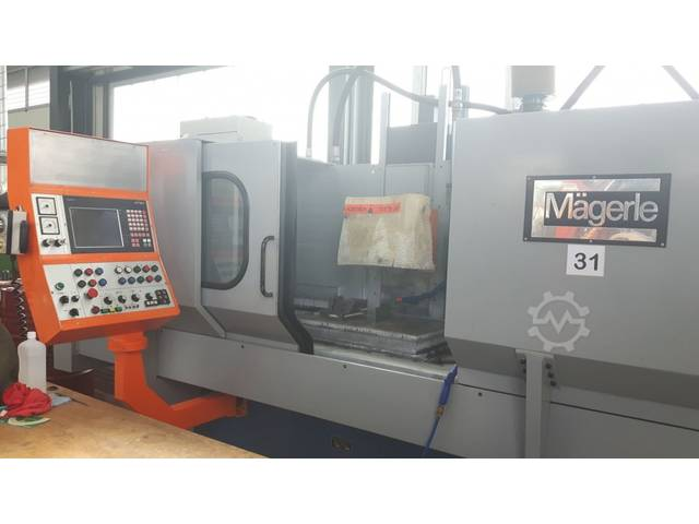 mehr Bilder Schleifmaschine Mägerle MFP 80-50