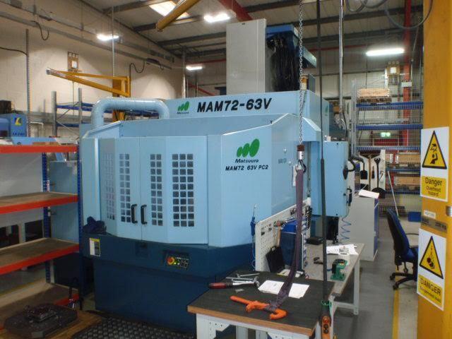 mehr Bilder Fräsmaschine Matsuura MAM 72 - 63 V