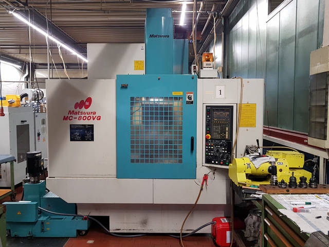 mehr Bilder Fräsmaschine Matsuura MC 800 VG