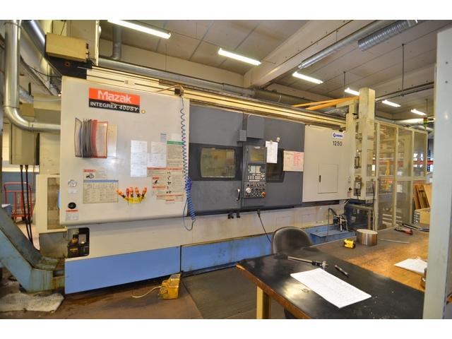 mehr Bilder Drehmaschine Mazak Integrex 400 SY GL 300
